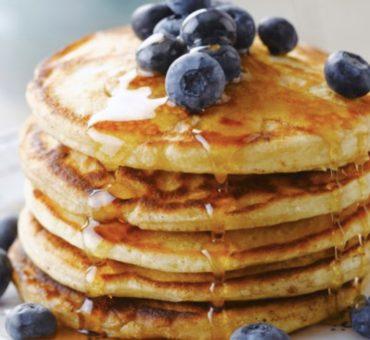 La recette des Pancake aux Myrtilles