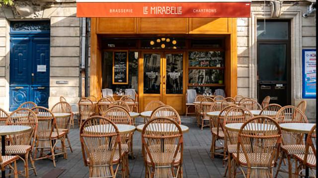 Terrasse Bordeaux Brasserie le Mirabelle