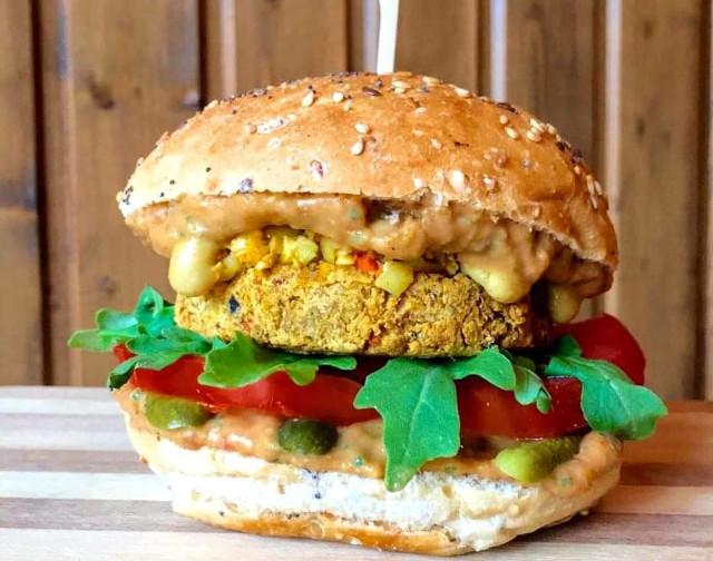 burger végétalien vegan