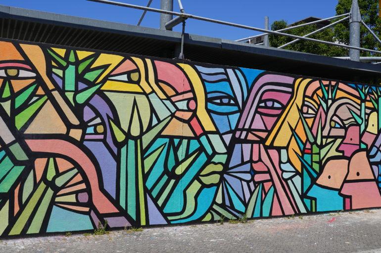 Visite guidée à vélo à la découverte du street-art de Bordeaux.