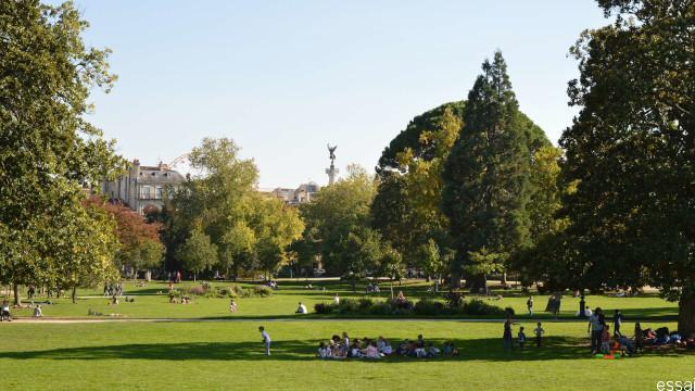 week-end bordeaux jardin public
