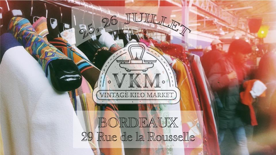 vintage kilo market  week-end bordeaux