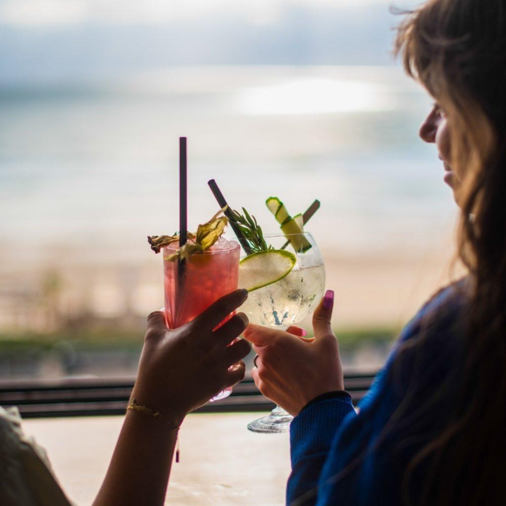 Café Maritime Lacanau - cocktails du bar panoramique