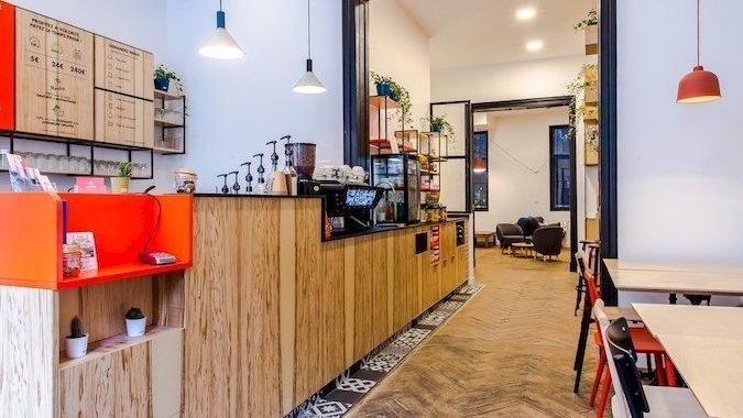 working café Bordeaux