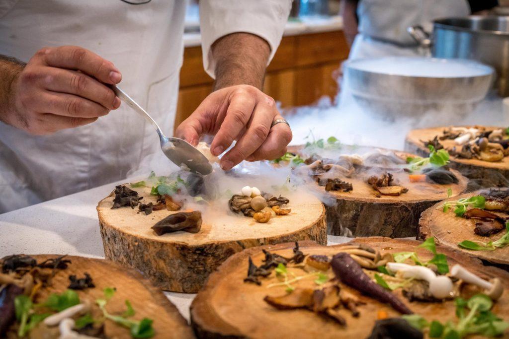 Restaurant gastronomique girondins