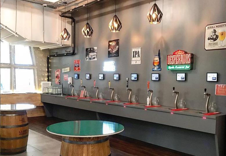 Euro 2021 bar bordeaux bière